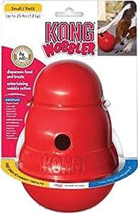 Amazon.com : KONG Wobbler Treat Dispensing Dog Toy, Small
