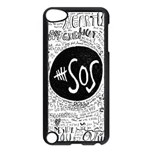 Fashion Protection 5 SOS Design Hard For Case Iphone 6 4.7inch Cover
