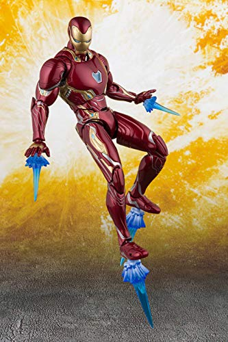 TAMASHII NATIONS Bandai S.H. Figuarts Iron Man Mk 50 & Tamashii Stage Avengers: Infinity War Action Figure