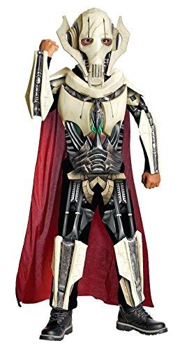 [Star Wars Deluxe General Grievous Costume - One Color - Large] (Costume General Grievous)