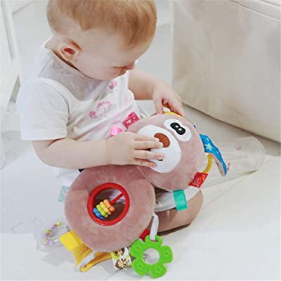 JINGYANHUA Baby Rattles Toys Stroller Hanging Soft Toy Cute Animal Doll Baby Crib Bed Hanging Bells Toys S Stuffed Soft Toys: Home & Kitchen