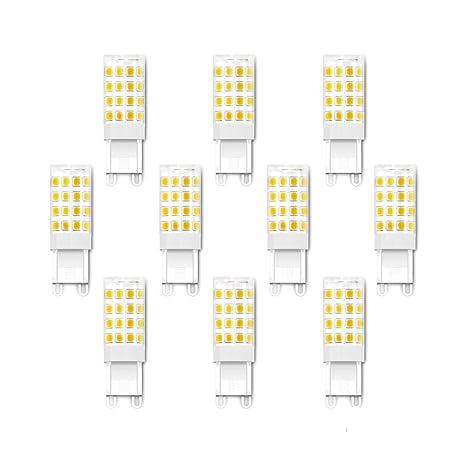 ENGEYA G9 Bombilla LED, 4 W Bombillas de Ahorro de Energía, Lámpara LED,