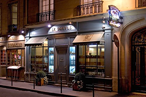 Paris Cafe II, Fine Art Photograph By: Rita Crane; One 36x24