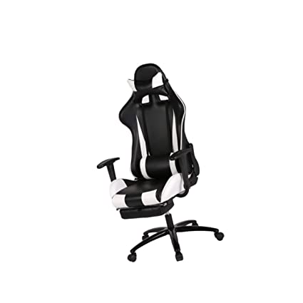 Amazoncom Recliner Office Chair Computer Racing Gaming Chair Rc1