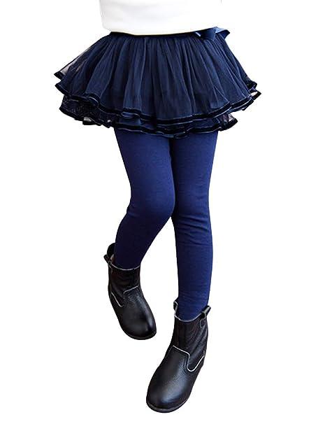 Phorecys falda tutú para niña de 4 capas, mini tul de encaje de ...