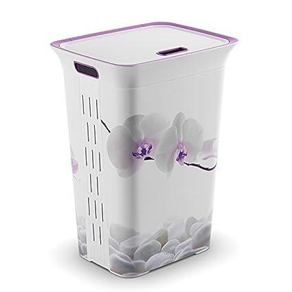 84d0d5dd40f Bel Casa Chic Series Hamper Orchid, Basket Big (Purple)