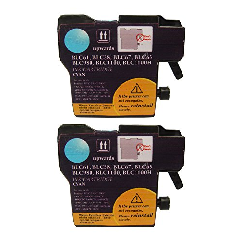 Superb Choice® Compatible ink Cartridge for Brother LC38C(Pack