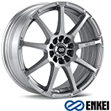 17x7 Enkei EDR9 (Silver) Wheels/Rims 4x100/114.3 (441-770-0138SP)