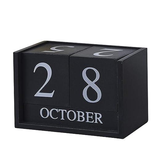 Calendario Calendarios de Escritorio Calendarios d 1 Unid Vintage ...