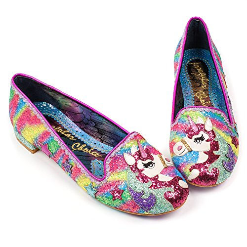 Irregular Choice Rosa Donna Rosa Mocassini rrd6Cqxw