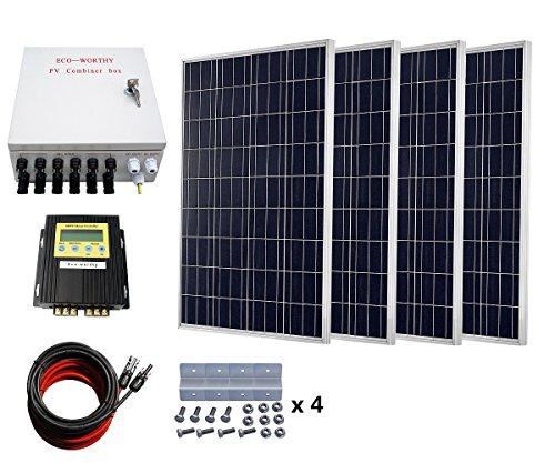 greenhouse solar heating panels