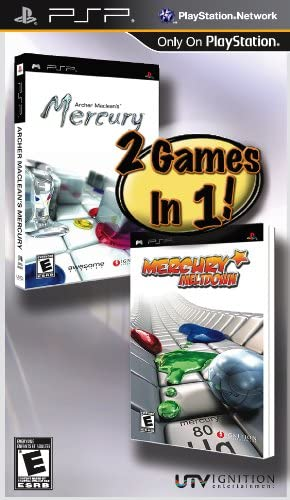 Archer Macleans Mercury and Mercury Meltdown 2 - Pack - Sony PSP by Ignition Entertainment: Amazon.es: Videojuegos