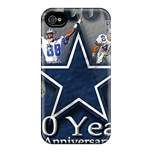Great Hard Phone Covers For Iphone 6plus With Custom HD Dallas Cowboys Series DustinFrench