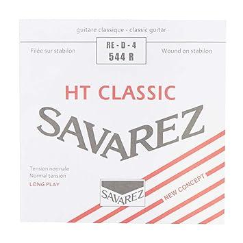 Savarez Cuerdas para Guitarra Clásica Alliance HT Classic 544R cuerda suelta Re4w standard, adecuado para juego 540R, 540RH, 540CR: Amazon.es: Instrumentos ...