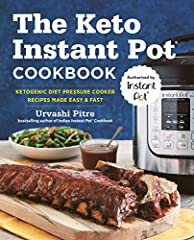 The ONLY OFFICIAL Instant Pot® cookbook with fast and easy recipes for keeping up with the ketogenic diet.              Home cooked meals that help you keep up with the ketogenic diet don't have to be challenging or time consu...