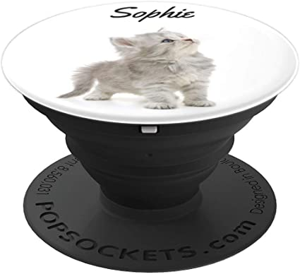 Amazon Com Cute Kitten Gift For Sophie Popsockets Grip And Stand For Phones And Tablets