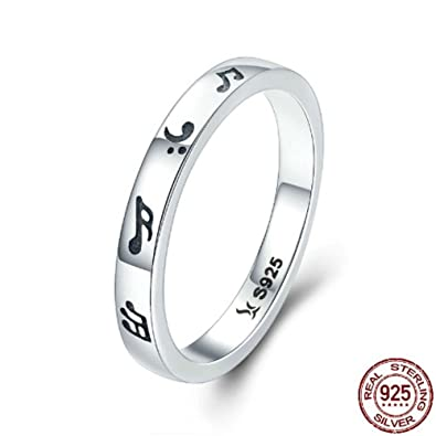 Amazon Com Tfr Jewelry 925 Sterling Silver Romantic Music Notes