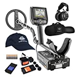 White's Spectra V3i HP Metal Detector with Padded Gun Style Carry Bag and Baseball Cap – 800-0329-HP For Sale