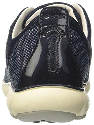 Geox Damen D Nebula C Sneaker Blau (navy)