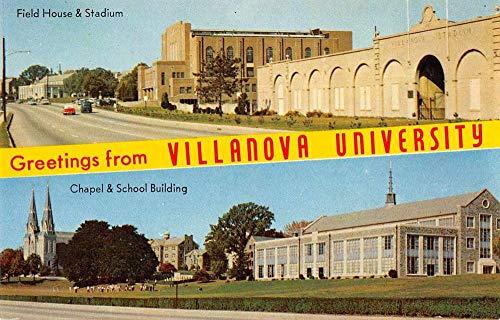 - Philadelphia Pennsylvania Villanova University Stadium Postcard JA4741517