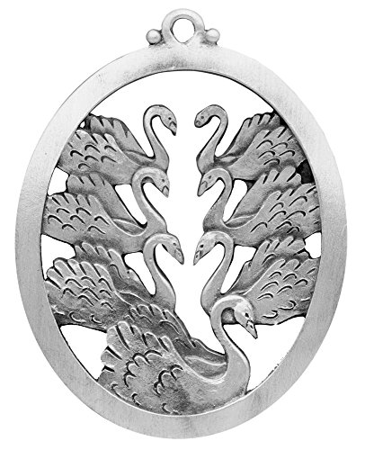 Seven Swans A Swimming Ornament ()