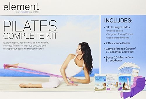 DVD : Kara Wily - Element: Complete Pilates Kit (Oversize Item Split)