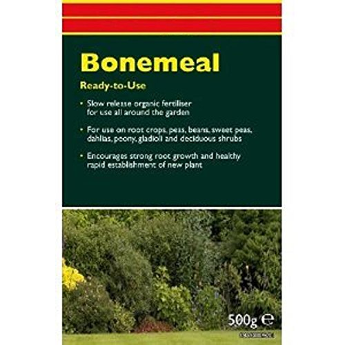 forestfox™ Bonemeal Natural Root Strengthener 500g Bone Meal Pack Greener Healthier Plants