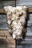 ESTRO | Genuine ICELANDIC Sheepskin Lambskin Rug | Lustrous and Luxurious | Colour Variety (Wolf Tip, 100 cm)