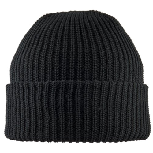 Chaos Delta Bulky Watch Cap, Black, One Size (Army Black Knit Cap)