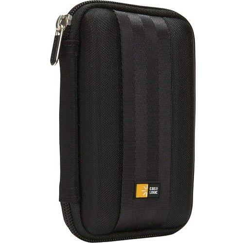 Case Logic QHDC-101 Portable Hard Drive Case - Black