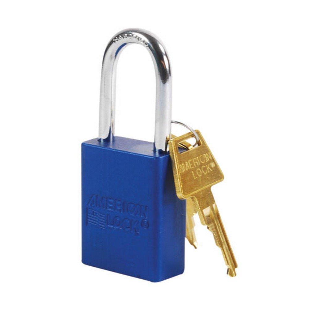 American Lock A1106BLU Padlock, Aluminum, Blue by American Lock