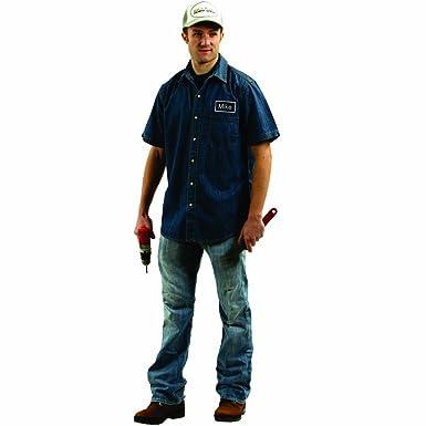 9e546f88aa Amazon.com  Dress Up America Mike Mechanic Adult Accessory  Clothing