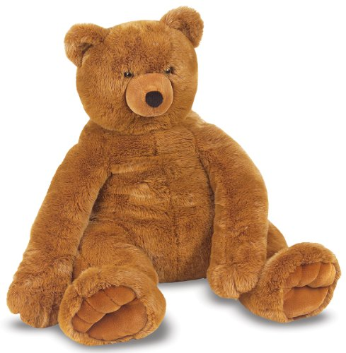 Image of Melissa & Doug Jumbo Brown Teddy Bear
