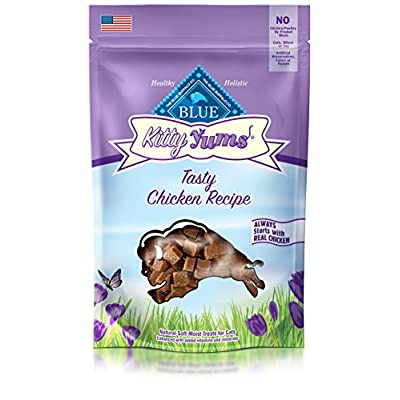 Cat Food Blue Buffalo Kitty YUMS Soft-Moist Cat Treats [tag]