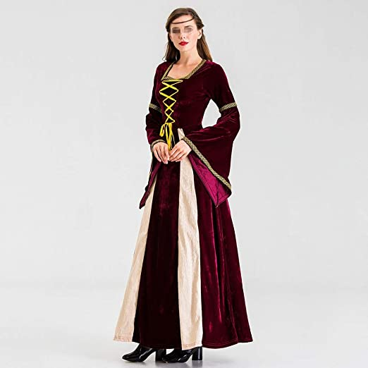 BESTSOON-TGA Disfraz de Princesa de la Diosa Griega de Halloween ...