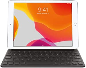 Apple Smart Keyboard for iPad (7th and 8th Generation) and iPad Air (3rd Generation) - US English (Renewed)