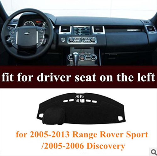 HEALiNK Car Dashboard Cover Mat for Land Rover Range Rover Sport 2005-2013 / Discovery 2005 2006