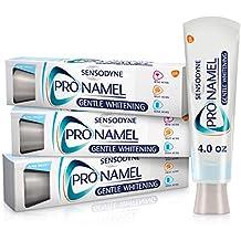 Sensodyne Pronamel Gentle Teeth Whitening Enamel Toothpaste for Sensitive Teeth, to Reharden and Strengthen Enamel, Alpine Breeze - 4 Ounces (Pack of 3)