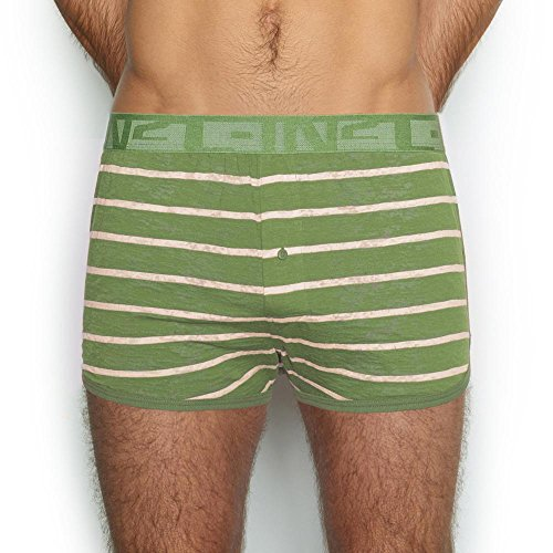 - C-IN2 Men's Hand Me Down Boxer, Lacinato Green, Extra Large