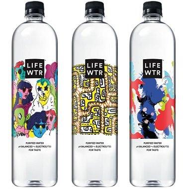 LIFEWTR Premium Purified Water (1L bottles, 12 pk.) by LIFEWTR