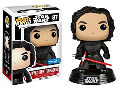 Funko Star Wars: The Force Awakens Pop! Unmasked Kylo Ren 87 Vinyl Bobble-Head
