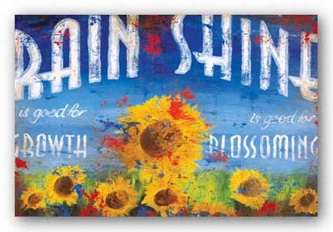Rain and Shine Art Poster Print by Rodney White, 36x24 Art Poster Print by Rodney White, 36x24