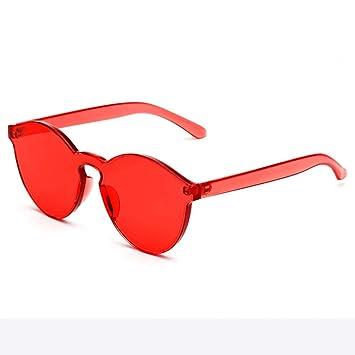 CCGSDJ Moda Retro Vintage para Mujer Sin Montura Gafas De ...