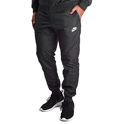 4a31e08ed09e1 Nike Men's Windrunner Cuffed Track Pants Black 898403 010 at Amazon ...