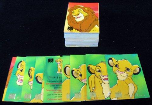 1995 Panini/Disney The Lion King Trading Card Set (90)