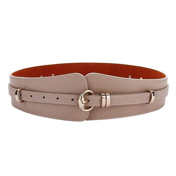 GAOQINGFENG Cinturones anchos para mujeres 3f72f422d80a