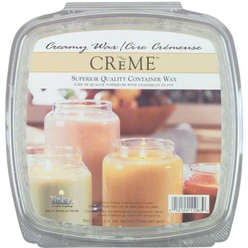 Yaley 2-Pound Creme Candle Wax Glass Fill Candle Wax