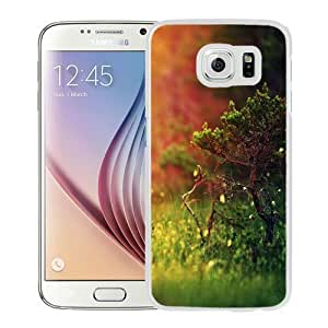 NEW Unique Custom Designed Samsung Galaxy S6 Phone Case With Small Tree Sunshine_White Phone Case