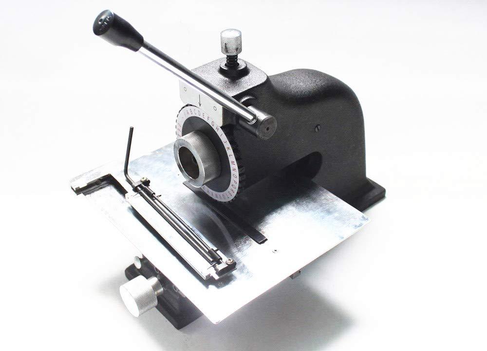 Metal Dog Tag Manual Embosser Embossing Machine