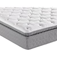 Sleep Inc. 15-Inch Complete Comfort 700 Pillow Top Mattress, Queen
